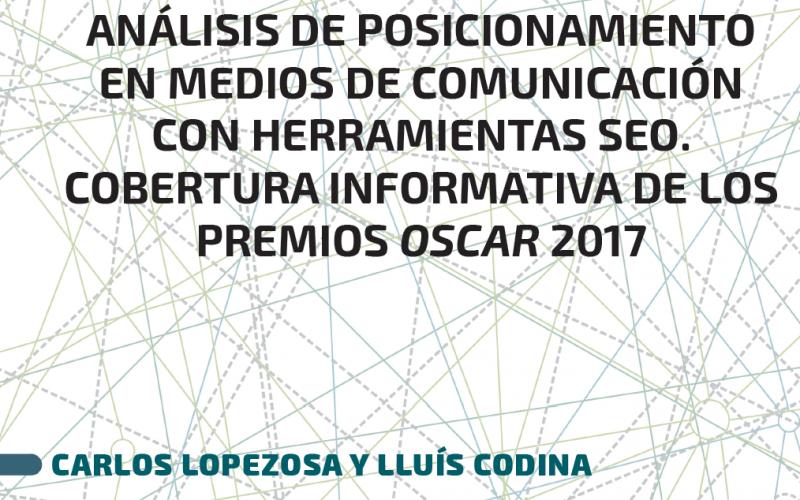 Cubierta del informe sobre medios de comunicación y SEO